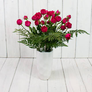 MOTHERS DAY ROSES & VASE